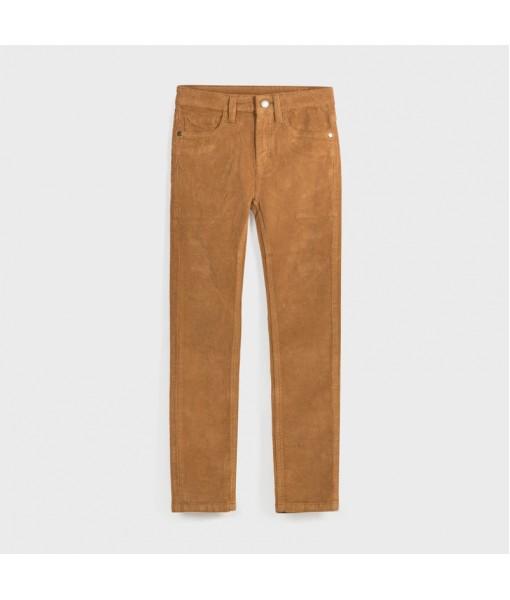 Παντελόνι κοτλέ slim fit βασικό αγόρι Mayoral 10-00547-075