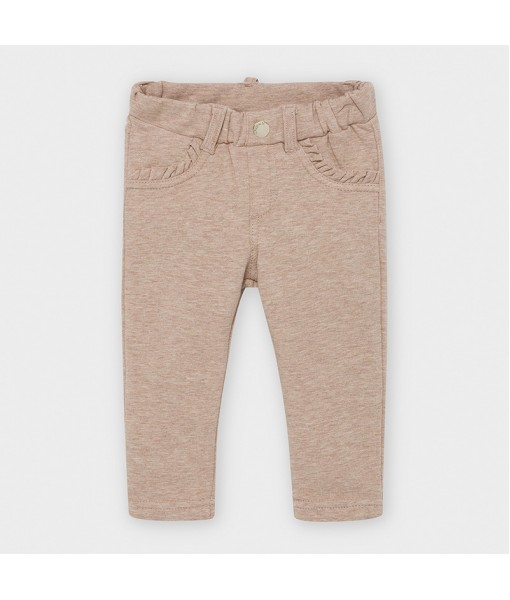 Παντελόνι μακρύ φούτερ βασικό baby κορίτσι Mayoral 10-00560-039