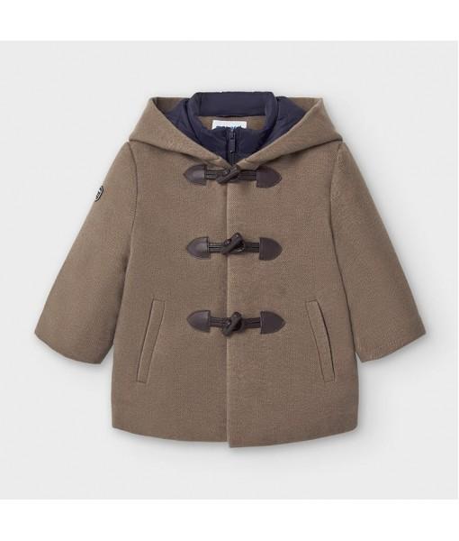 Παλτό τύπου μοντγκόμερι με κουκούλα baby αγόρι Mayoral 10-02488-066