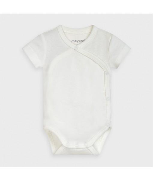 Κορμάκι κοντομάνικο νεογέννητο Mayoral αγόρι 10-02761-055
