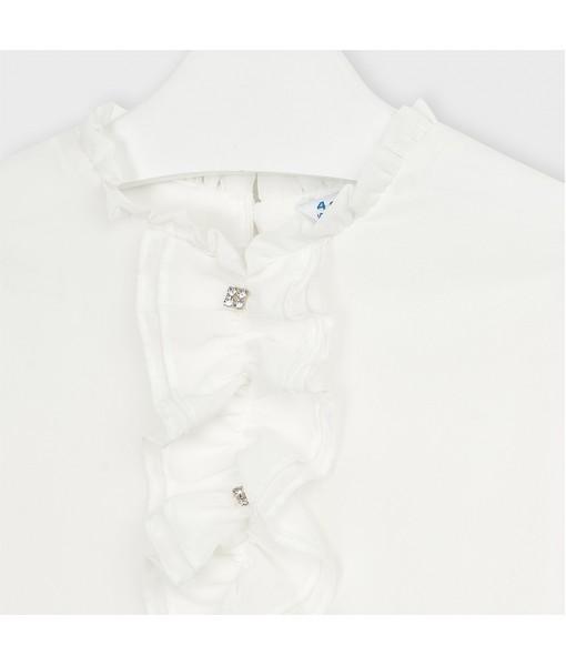Μπλούζα γάζα πουκαμίσα κορίτσι Mayoral 10-04150-059