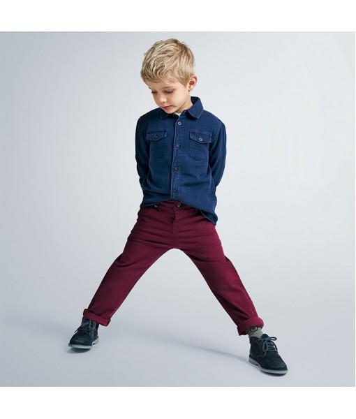 Παντελόνι μακρύ λοξότσεπο σταμπωτό αγόρι mayoral  10-04529-070