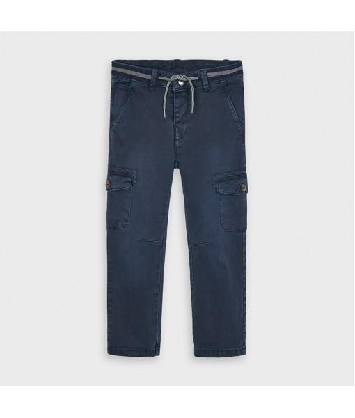 Παντελόνι τσέπες cargo μακρύ slim fit αγόρι Mayoral 10-04534-026