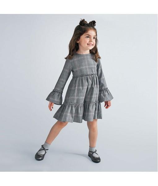 Φόρεμα καρό Mayoral κορίτσι 10-04983-025