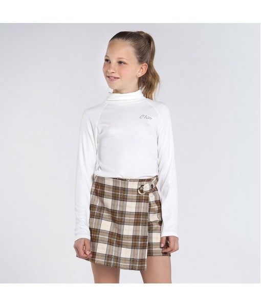 Μπλούζα μακρυμάνικη ζιβάγκο Mayoral κορίτσι 10-07061-056