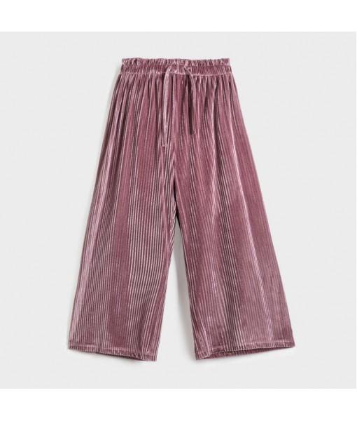 Παντελόνι ζιπ κιλοτ βελούδο Mayoral κορίτσι 10-07952-075