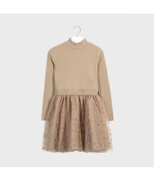Φόρεμα τούλι Mayoral κορίτσι 10-07960-094
