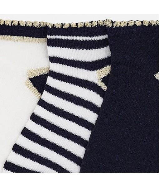 Σετ 3 κάλτσες κορίτσι Mayoral 28-10428-030