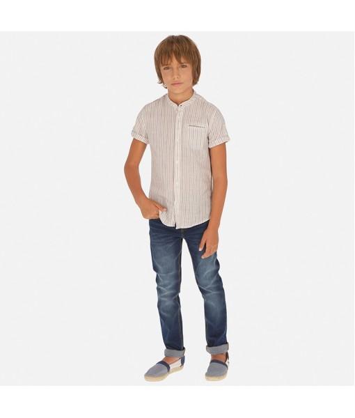 Παντελόνι τζιν ίσια γραμμή regular fit αγόρι Mayoral 20-00056-044