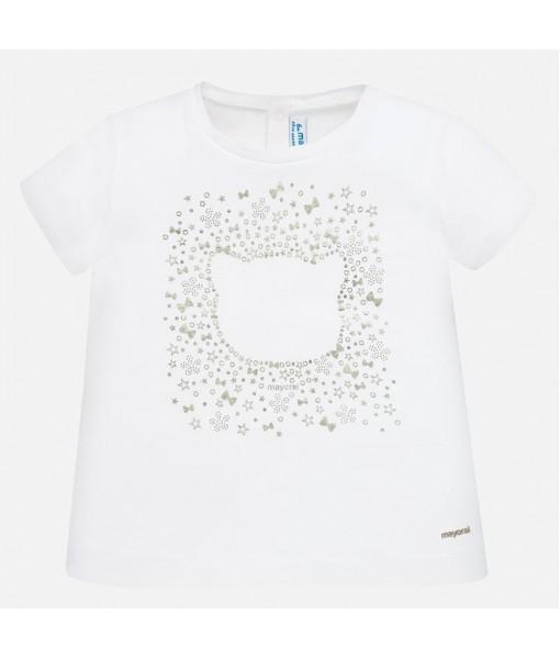 Μπλούζα κοντομάνικη βασική κορίτσι Mayoral 20-00105-090