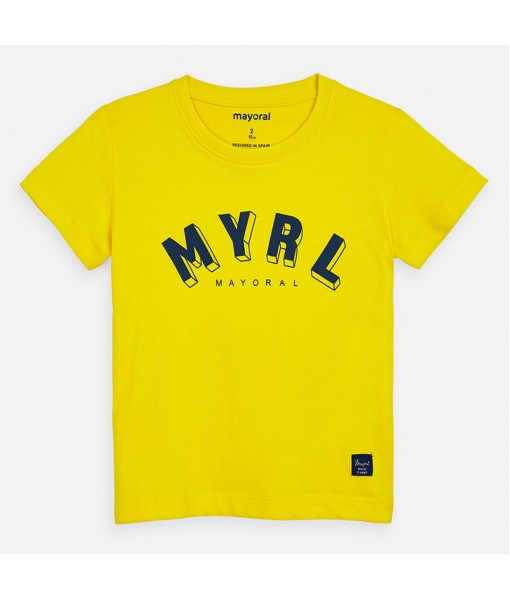 Μπλούζα κοντομάνικη αγόρι Mayoral 20-00170-044