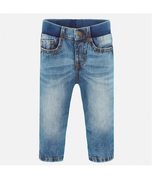 Παντελόνι τζιν jogger βασικό αγόρι Mayoral 20-00500-081