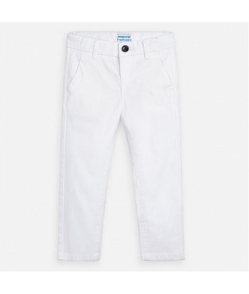 Παντελόνι μακρύ λοξότσεπο slim fit αγόρι Mayoral 20-00512-061