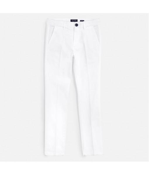 Παντελόνι λοξότσεπο μακρύ slim fit βασικό αγόρι Mayoral 20-00530-017