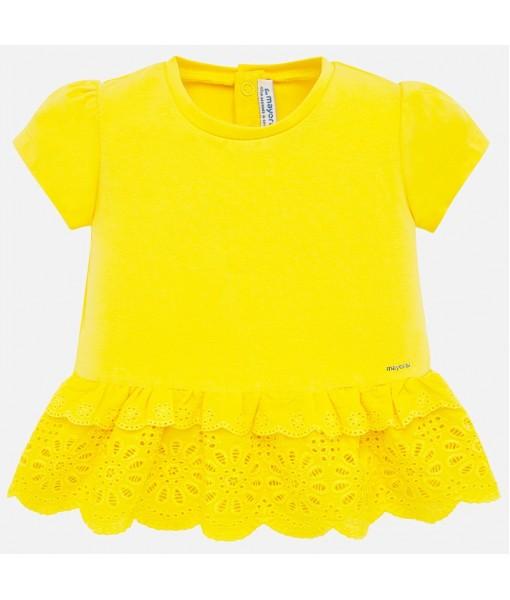Μπλούζα κοντομάνικη baby κορίτσι Mayoral 20-01062-015