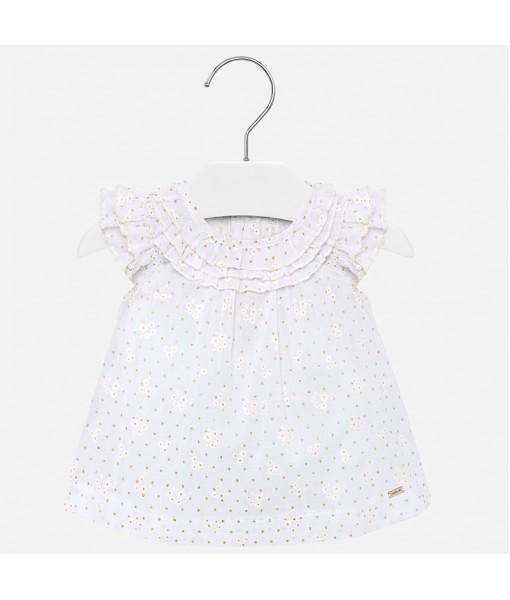 Πουκαμίσα βολάν baby κορίτσι Mayoral 20-01169-065