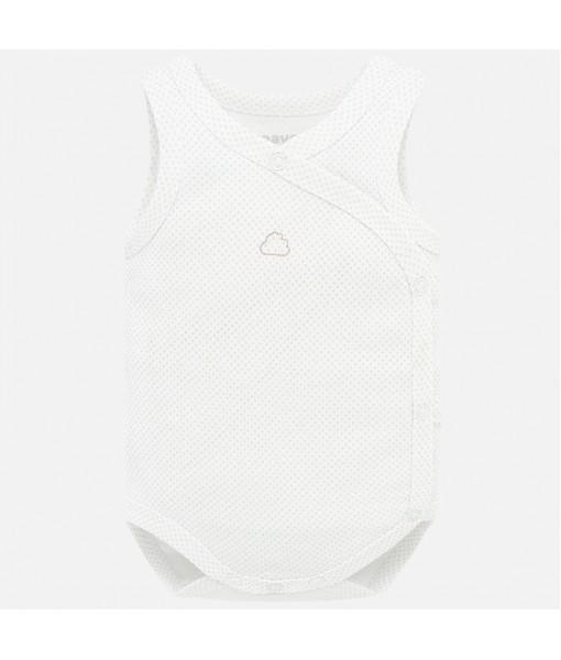 Κορμάκι αμάνικο νεογέννητο Mayoral 20-01767-036
