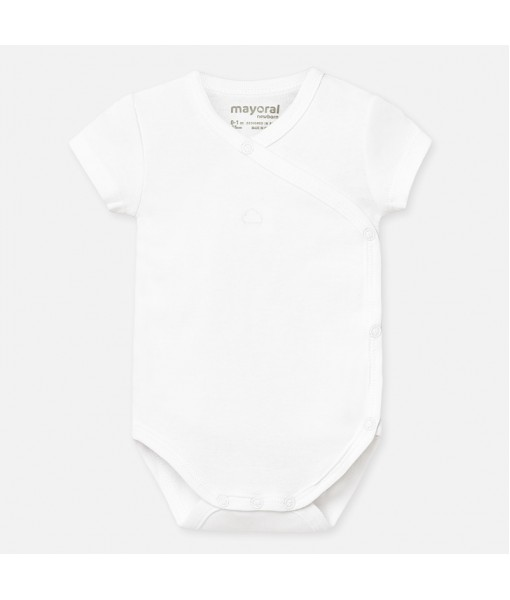 Κορμάκι κοντομάνικο νεογέννητο Mayoral 20-01768-039