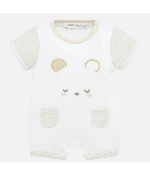 Φορμάκι πιτζαμάκι κοντό νεογέννητο αγόρι Mayoral 20-01770-031