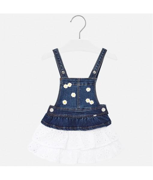 Φούστα σαλοπέτα τζιν baby κορίτσι 20-01904-005