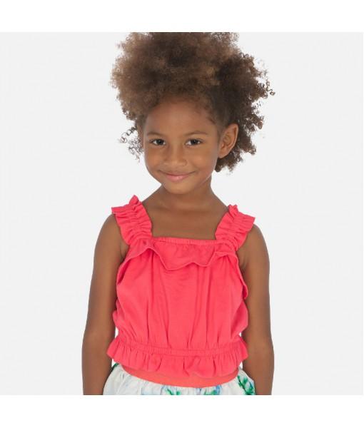 Μπλούζα τιράντες κορίτσι Mayoral 20-03027-032