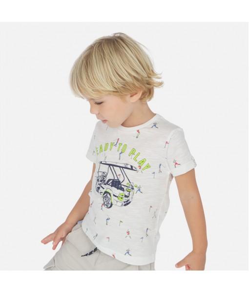 Μπλούζα κοντομάνικη αγόρι Mayoral 20-03062-084