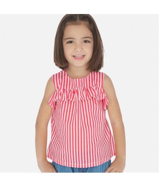 Πουκαμίσα ρίγες κορίτσι Mayoral 20-03186-094