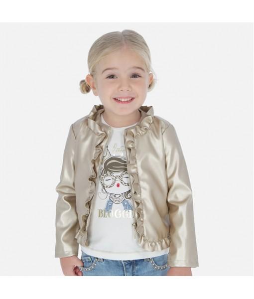 Σακάκι μεταλιζέ κορίτσι MAYORAL 20-03464-019