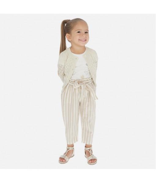 Παντελόνι μακρύ ζώνη κορίτσι Mayoral 20-03540-024
