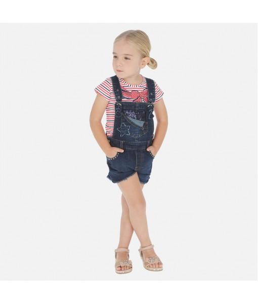 Σαλοπέτα κοντή τζιν φαντασία Mayoral κορίτσι 20-03632-005