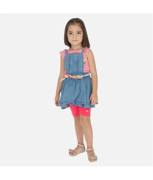 Σαλοπέτα κοντή φούστα αποσπώμενη τζιν Mayoral κορίτσι 20-03910-005