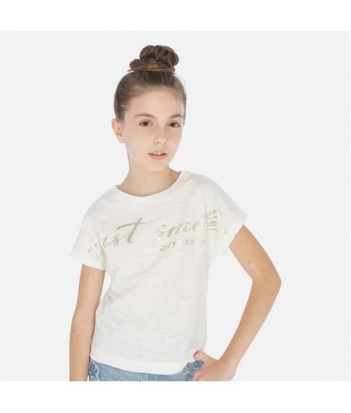 Μπλούζα κοντομάνικη κορίτσι Mayoral 20-06010-003