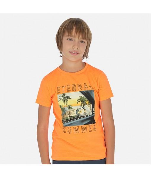 Μπλούζα κοντομάνικη αγόρι Mayoral 20-06063-072