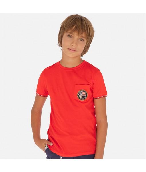 Μπλούζα κοντομάνικη αγόρι Mayoral 20-06064-055
