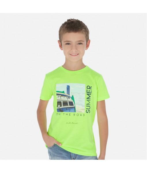 Μπλούζα κοντομάνικη αγόρι Mayoral 20-06068-034
