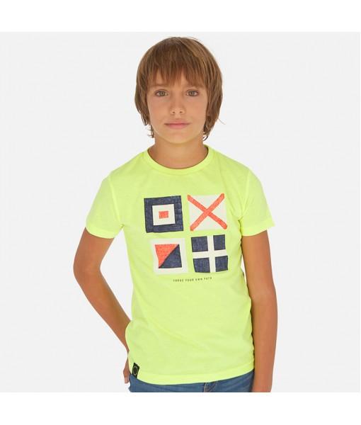 Μπλούζα κοντομάνικη αγόρι Mayoral 20-06070-063