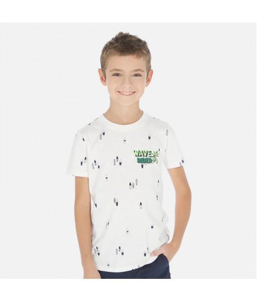 Μπλούζα κοντομάνικη αγόρι Mayoral 20-06071-021