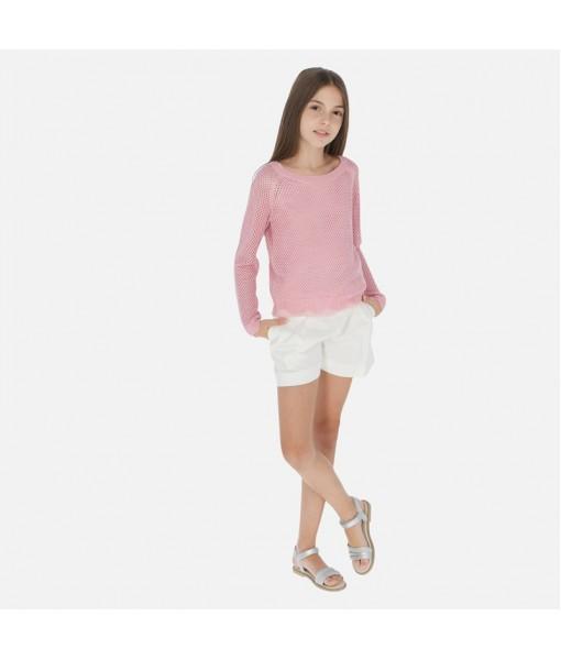 Παντελόνι κοντό σατέν κορίτσι Mayoral 20-06250-087
