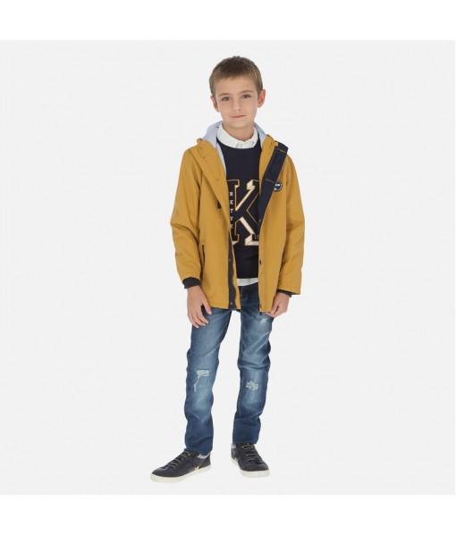 Παντελόνι μακρύ τζιν straight fit αγόρι Mayoral 20-06526-070