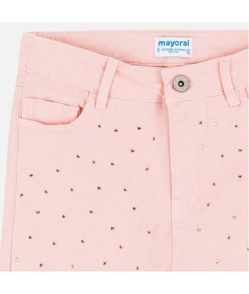 Παντελόνι μακρύ τρουκς skinny fit κορίτσι Mayoral 20-06532-071