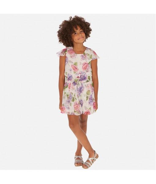Φόρμα κοντή γάζα κορίτσι Mayoral 20-06811-053