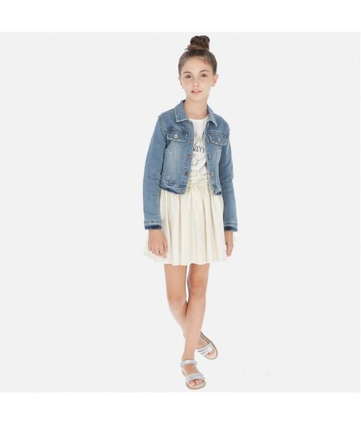 Φούστα λινή κορίτσι Mayoral 20-06949-002