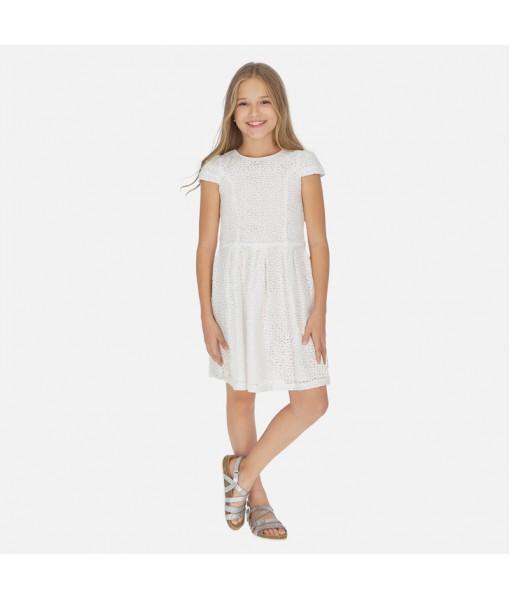 Φόρεμα δαντέλα κορίτσι Mayoral 20-06959-064