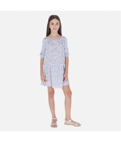 Φόρεμα σχέδιο καρδιές κορίτσι Mayoral 20-06975-088