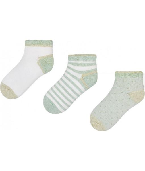 Σετ 3 κάλτσες κορίτσι Mayoral 28-10428-032