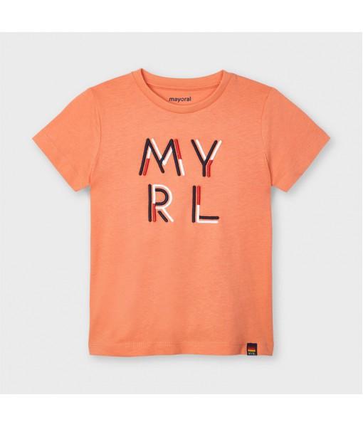 Μπλούζα λογότυπο βασική  αγόρι Mayoral 21-00170-010