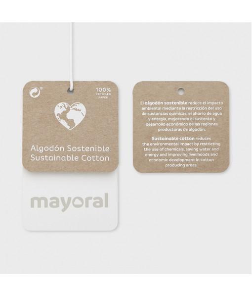 Μπλούζα κοντομάνικη Ecofriends βασική κορίτσι Mayoral 21-00174-011