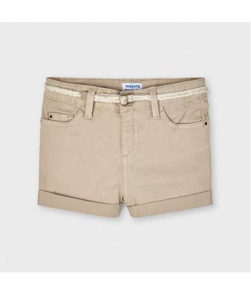 Παντελόνι κοντό καπαρτινέ βασικό κορίτσι Mayoral 21-00234-024