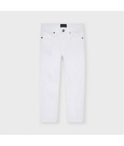 Παντελόνι μακρύ καπαρτινέ slim fit αγόρι Mayoral 21-00509-066