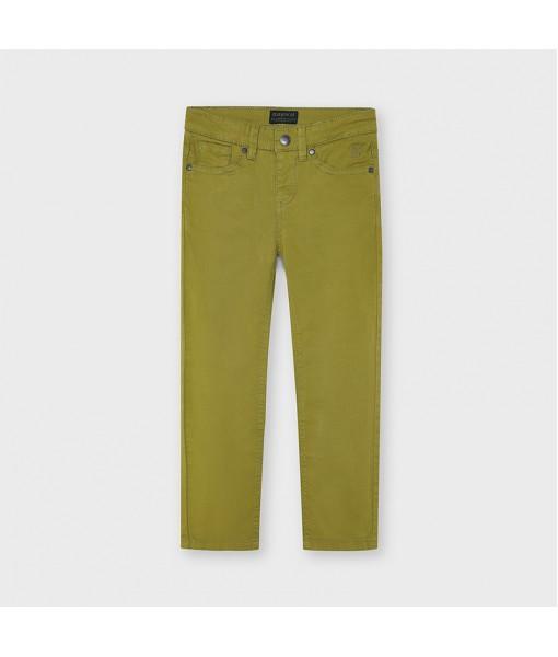Παντελόνι μακρύ καπαρτινέ slim fit αγόρι Mayoral 21-00509-068